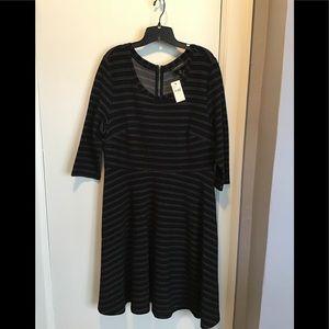 Black & Grey Business Casual Dress